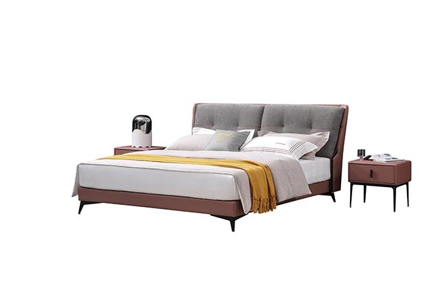简约软床—如果睡眠姿势不正确,会对身体造成伤害