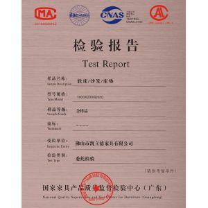 产品检测报告